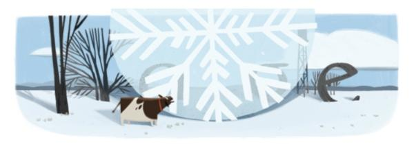 Doodle: World record for the largest observed snowflake