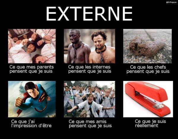 la vraie vie des externes...