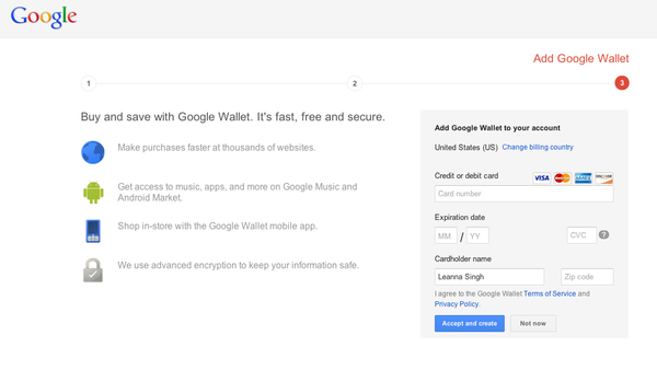 Google now asks you to enter your credit card as part of the Gmail signup flow. Bold. http://t.co/YT53tdB7