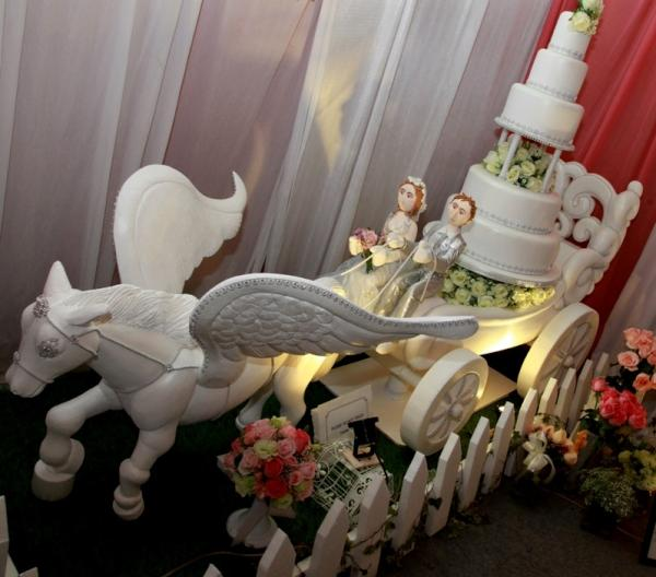 Cherryblossomcake On Twitter Wedding Cake Kereta Kuda Http T Co