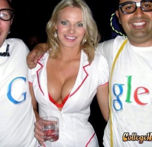 Apologise, but, Google boob logo