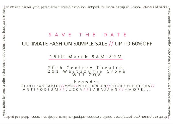 Studio nicholson pop up store coming up in london from.