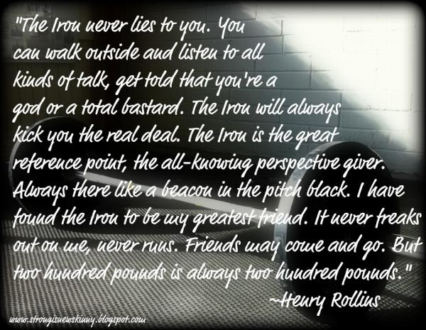"""""""Iron and The Soul"""" – by Henry Rollins"""