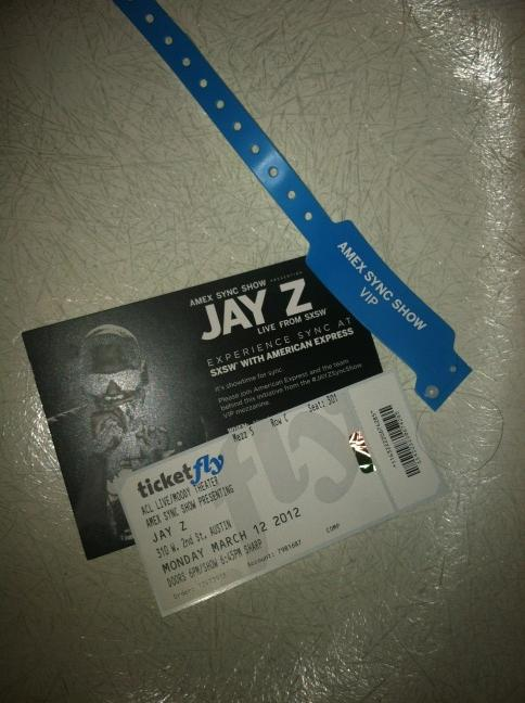 S/O 2 @davewolfnyc for hooking up @FeelRich team with the Jay Z tix!! visa step your game up @americanexpress all day http://t.co/yUiWvDnU