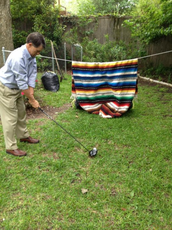 "Backyard Driving Range blake summers on twitter: ""diy backyard driving range http://t.co"