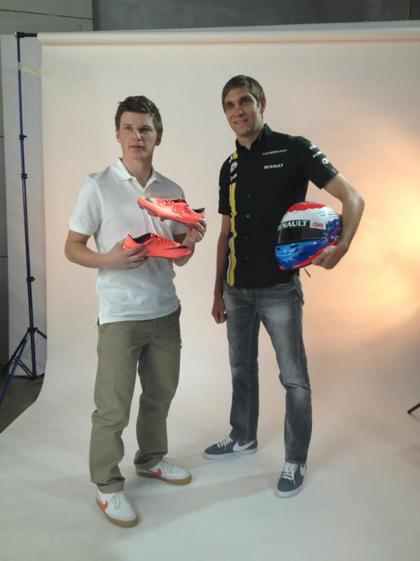 I hope that with these #Nike boots I will be as fast as @vitalypetrovrus is on the track. http://t.co/Bt0LkW6Z
