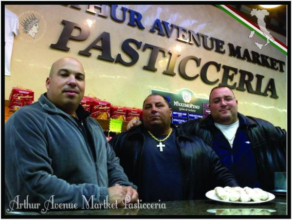 Tommie Romola FROM Official Carfellas will be @ Arthur Avenue Pasticceria @ 12 noon http://t.co/7SsmwhoY