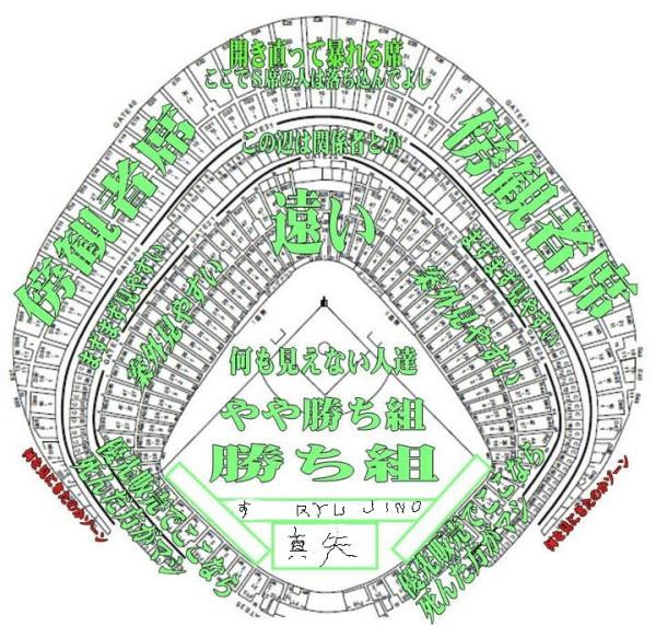 東京 ドーム 座席 案内