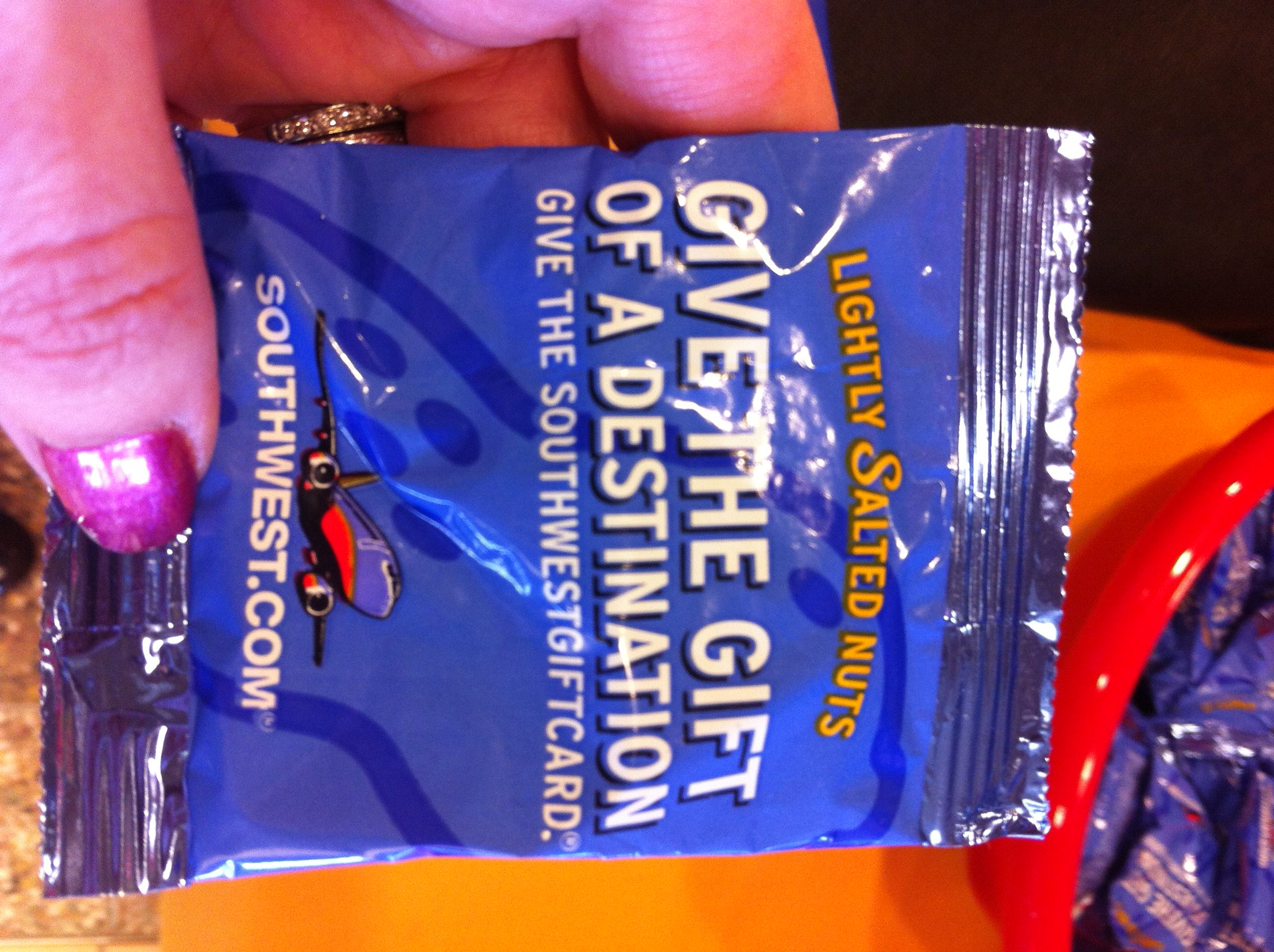 RT @CAKairport: These may be the first @SouthwestAir nuts to ever be at @CAKairport. #nutsaboutsouthwest http://t.co/fzalUIX6