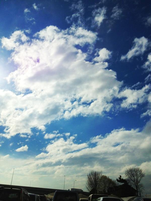 秘境グンマーの15:30は青空です♪ http://t.co/CBaVwVCh