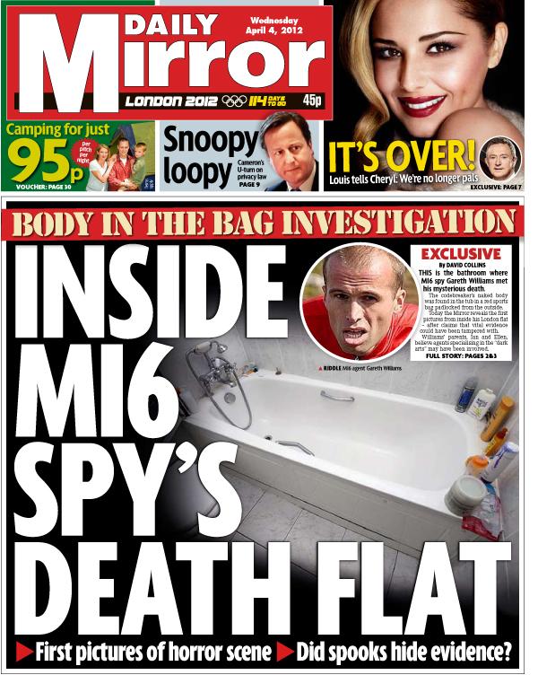 MI6 spy found dead in bag 'was murdered in blackmail plot' – ex-KGB major