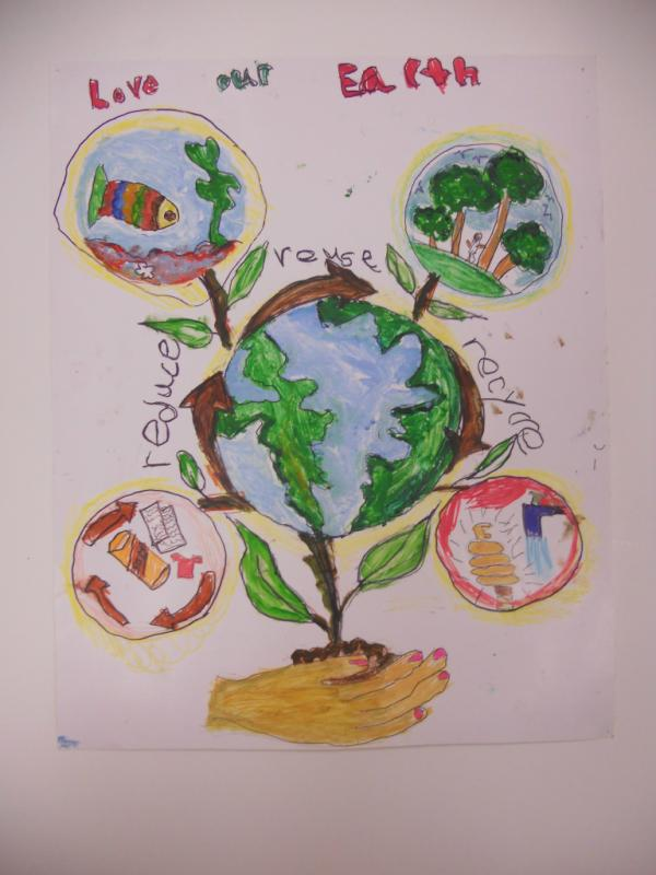 HHS Sustainability On Twitter 2011 EarthDay Kids Poster Contest Winner