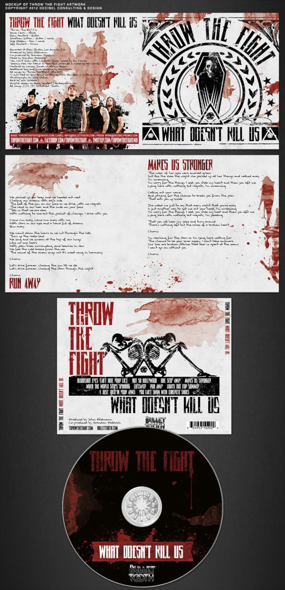"""Just wrapped up the album art for the new @throwthefightmn record. """"What Doesn't Kill Us"""" in stores June 5th! http://t.co/6bu25h9F"""