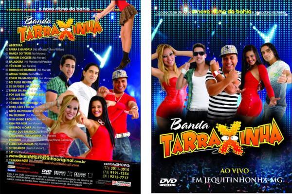dvd da banda tarraxinha
