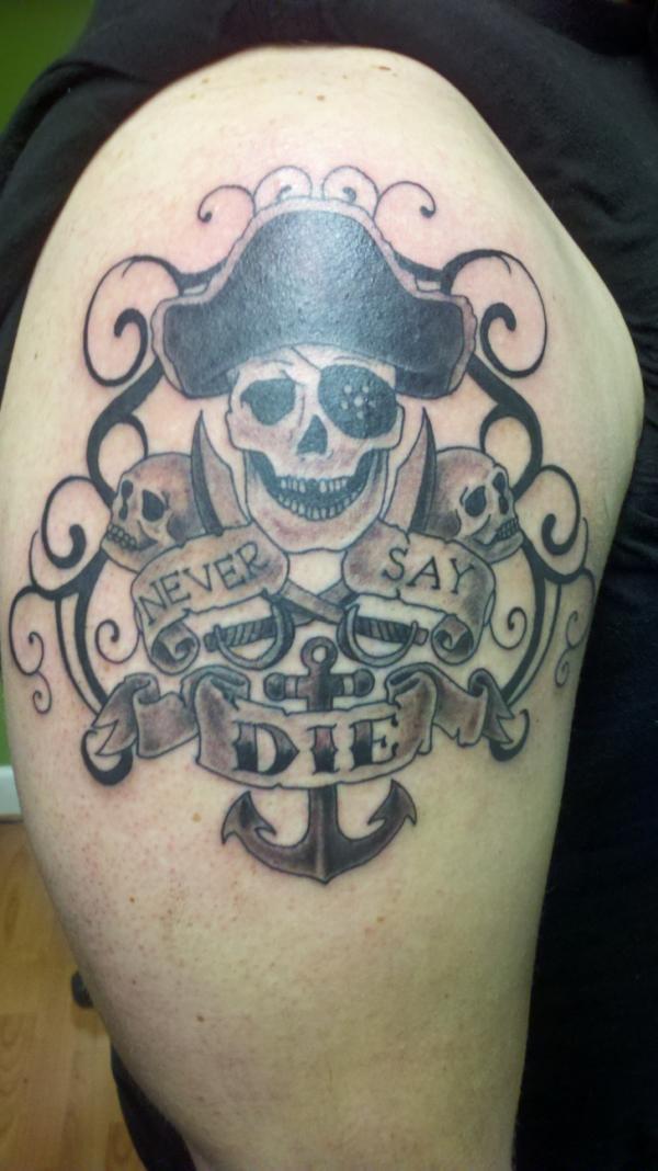 Azarja Van Der Veen On Twitter Goonies Never Say Tattoo Goonies Neversay T Co Prxu