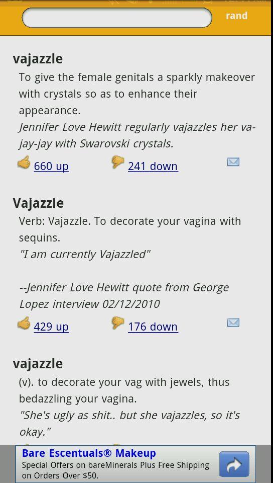 Bri Genarelli On Twitter Vagazzle Verb To Decorate Your Vagina