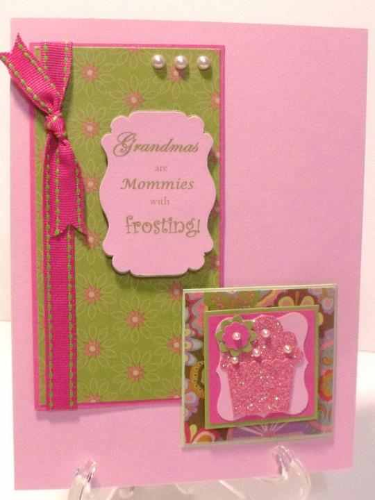 I've had several people ask, and yes, this CAN be made n2 a #MothersDay card.  #handmade #card fb# http://t.co/UNqW46lp