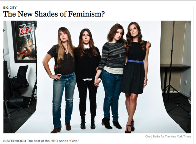 New York Times: The New Shades of Feminism?