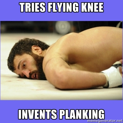 [Funny] Now we know who invented planking! http://t.co/W6Z9pcjs