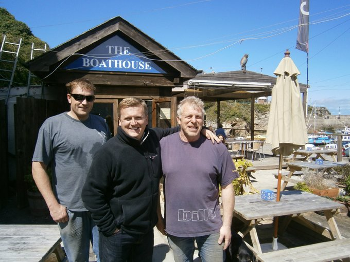 Aled Jones in Newquay