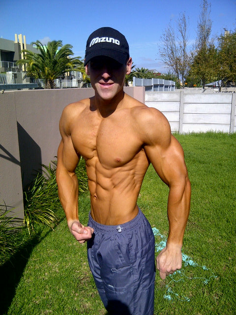 Peter Gaiser South African Fitness model