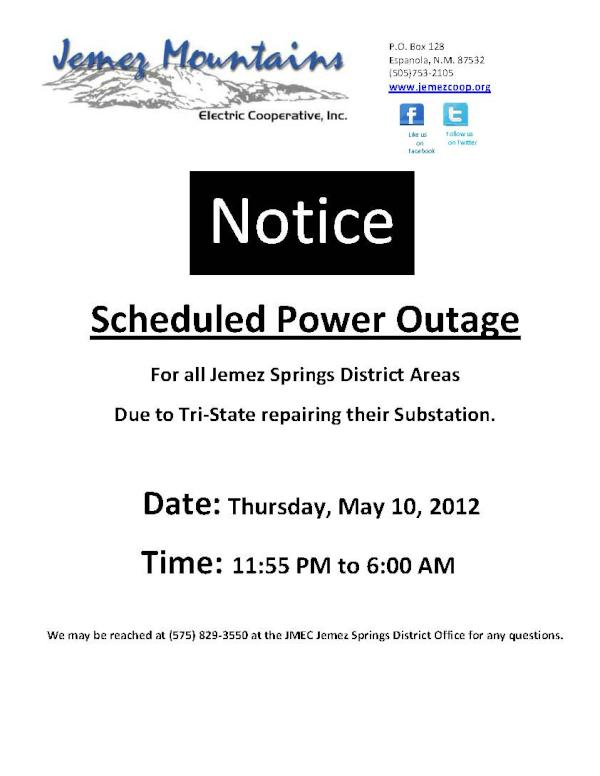 Jemez Electric Coop on Twitter: