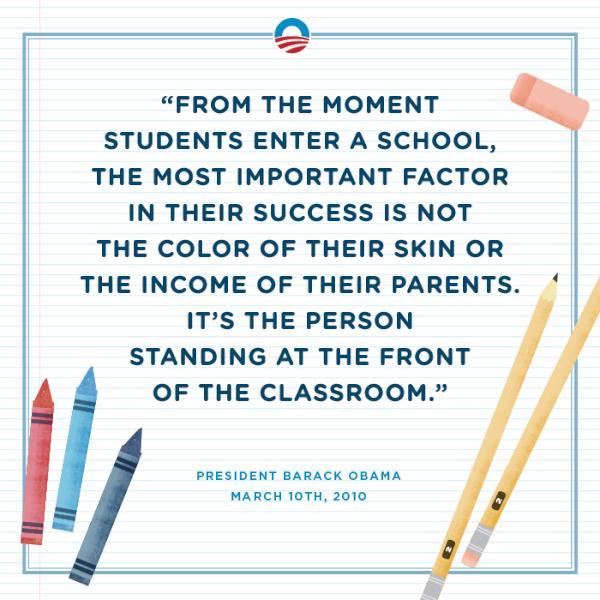 Barack obama on twitter happy teacher appreciation week http barack obama on twitter happy teacher appreciation week httptlauyidip sciox Images