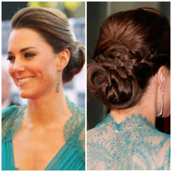 Kate Middleton Updos Images & Pictures - Becuo
