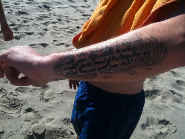 Ellen Jacob Wraith On Twitter David Cooks Dash Poem Tattoo Just