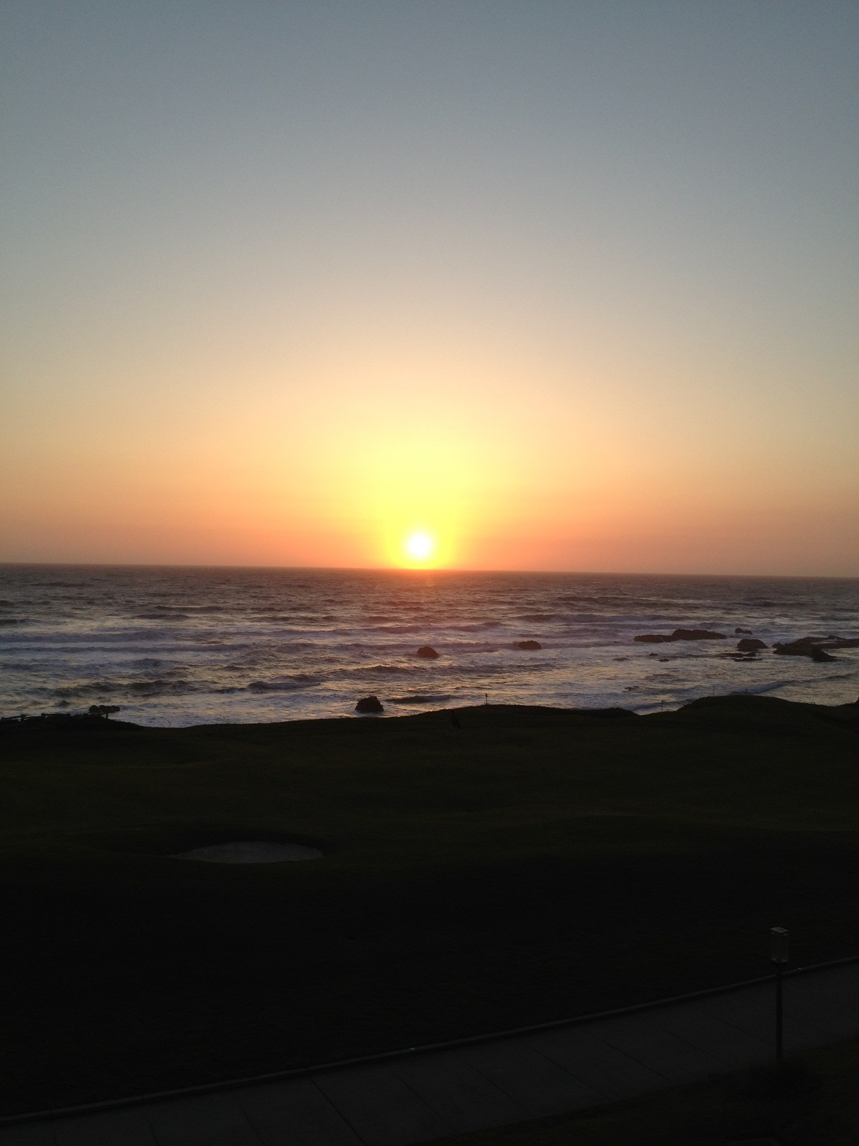 Twitter / dcstalder: Awesome Half Moon Bay sunset ...