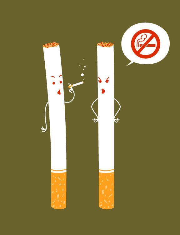 Картинки против курение смешные, икон