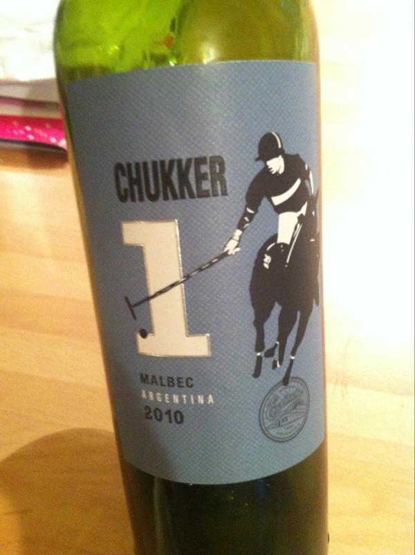 the wine tracker on twitter chukker malbec argentina 2010