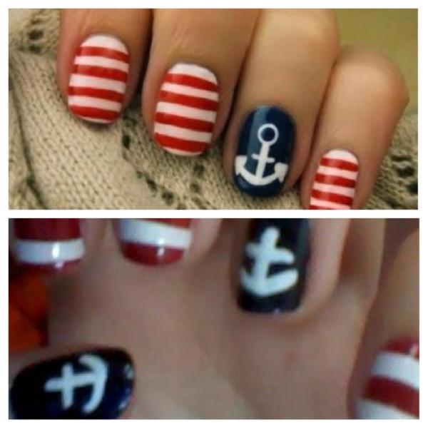 #DIY nail decals with scotch tape. Just pet dry, peel off, and cut. #nailart #beautytipspic.twitter.com/JNVmWz9J