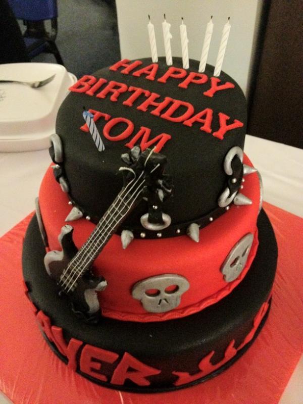 Mat Giordano On Twitter Tom Arayas Birthday Cake Via - Slayer birthday cake