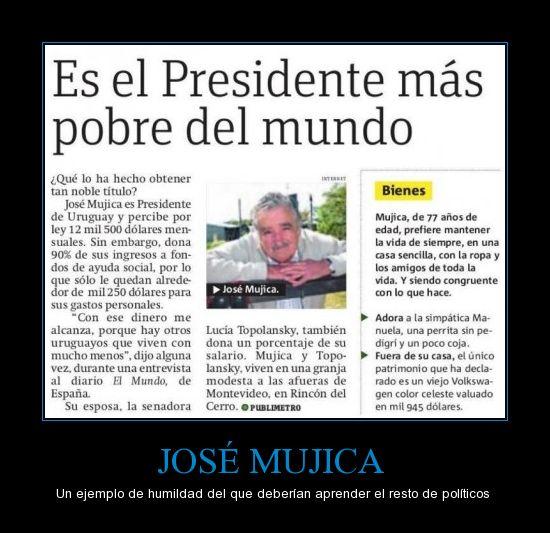 El Presidente más pobre del mundo. @FelipeCalderon @vicentefoxque @epn @josefinavm @lopezobrador_ http://t.co/8wwzXBQe