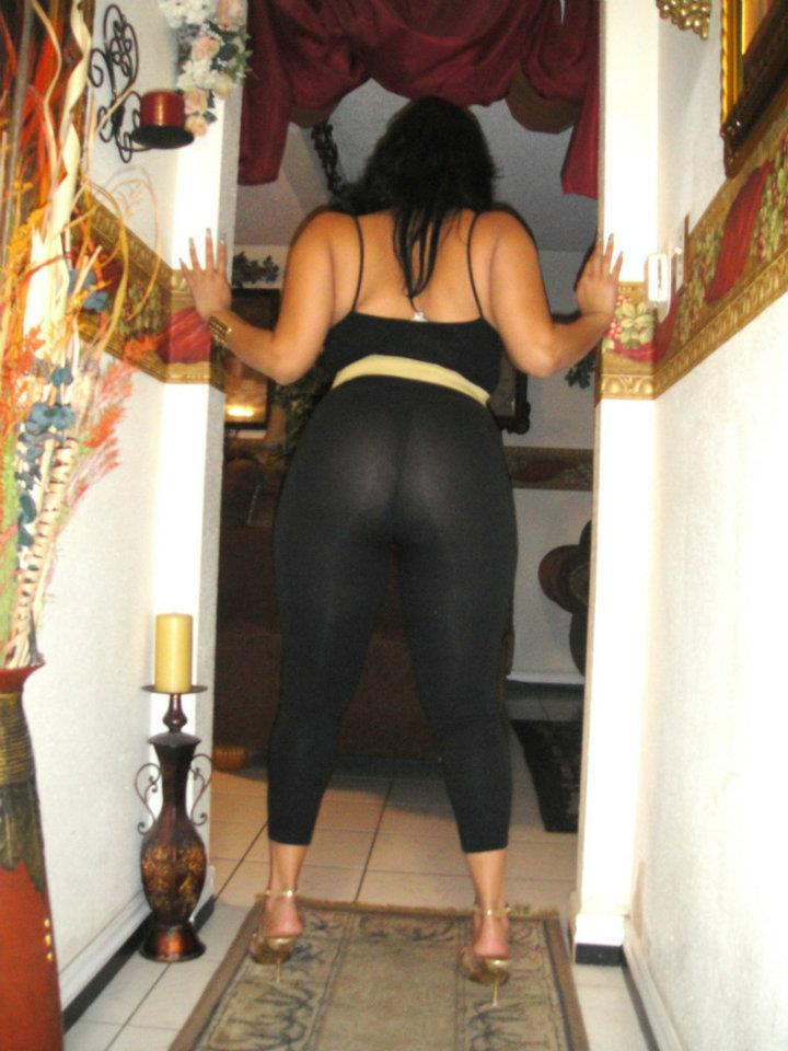 Latina milf dress pants