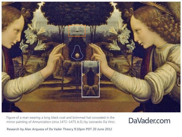 Da Vader Theory (@DaVaderTheory) | Twitter Da Vinci Paintings Mirrored