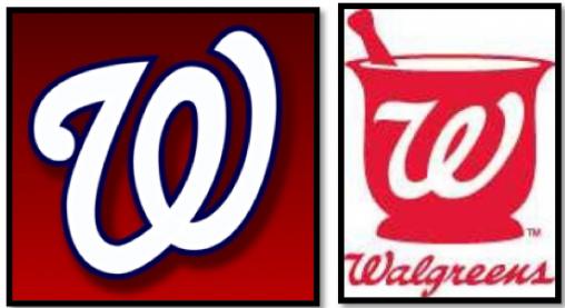 Ian Jett On Twitter Walgreens Vs Nats Logo Whats The Difference Tco UIxErsQj