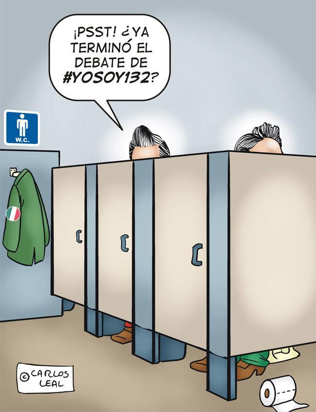 RT @mayte_ambar: Mientras tanto Peña... #debate132Jalisco http://t.co/hX9hXsa0
