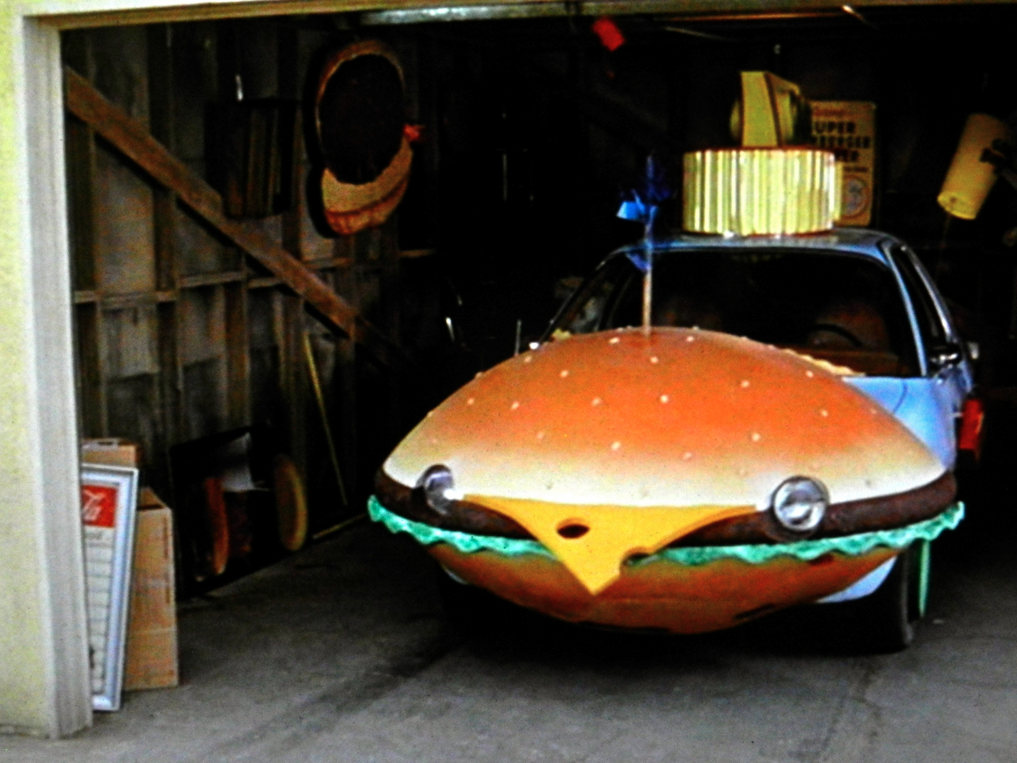 "Good Car Movies: Good Burger On Twitter: ""There She Is... The Burger Mobile"