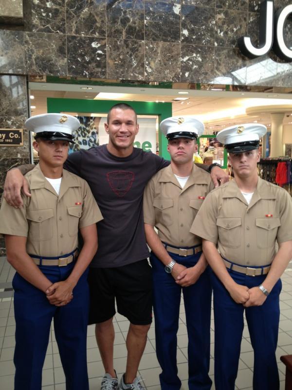 randy orton as a marine