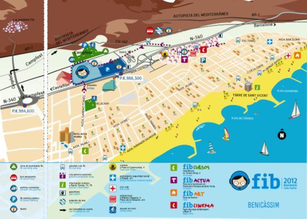 Benicssim Festival on Twitter Benicssim plano httptco