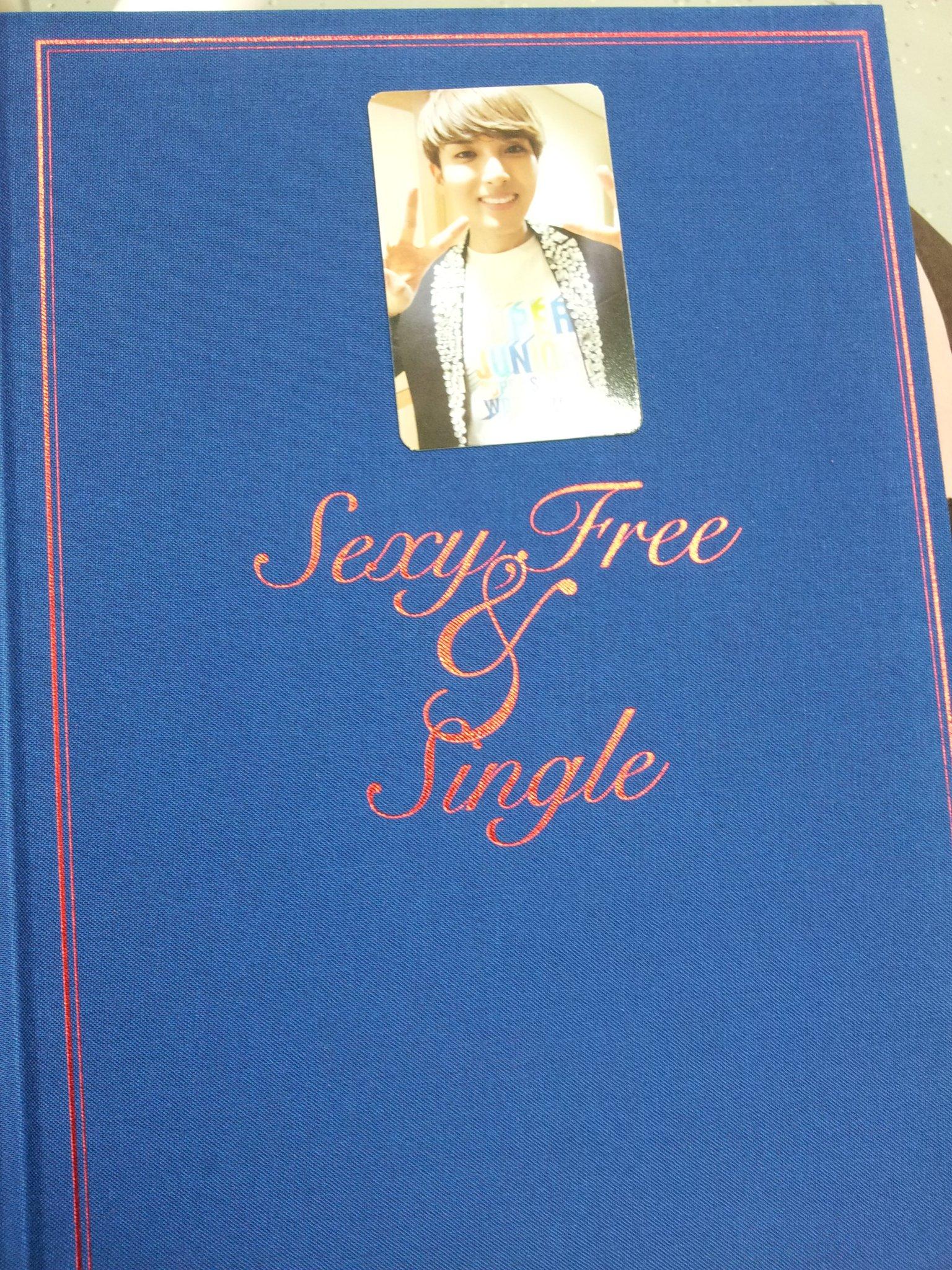 [PIC] 'Sexy, Free & Single' Ryeowook Photocard! http://t.co/1kI6u0KF cr: 712jay