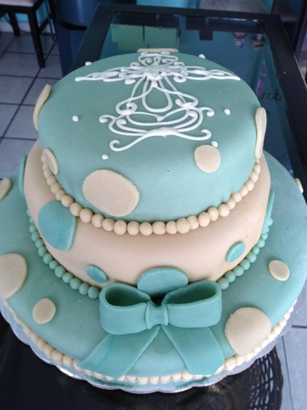 "Yummi Cupcake Shop on Twitter: ""Pastel de bautizo para niño http ..."