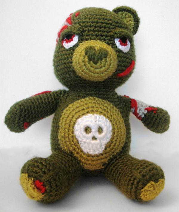 Amigurumi Zombie Pattern | Make | :711x600