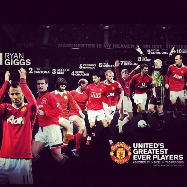Mejores jugador en la historia del equipo ¡LEYENDAS! http://t.co/lyiBWllM