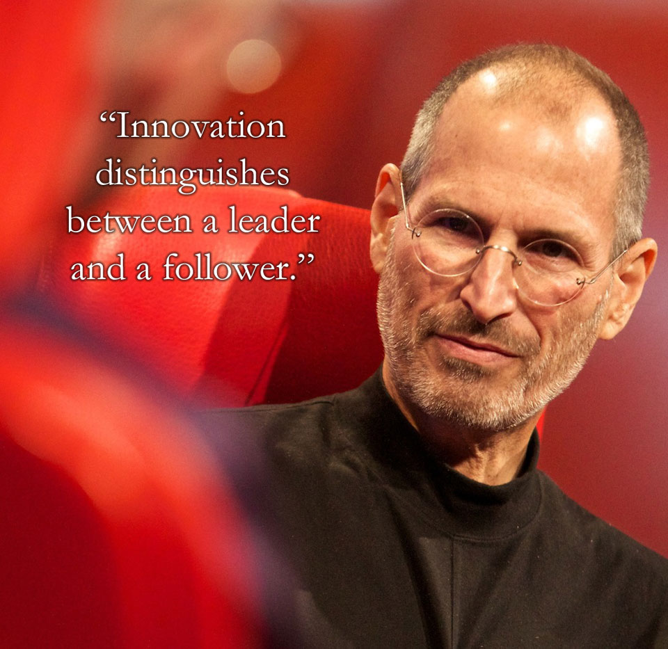Twitter / swankyannie: Steve Jobs best quote.... ...