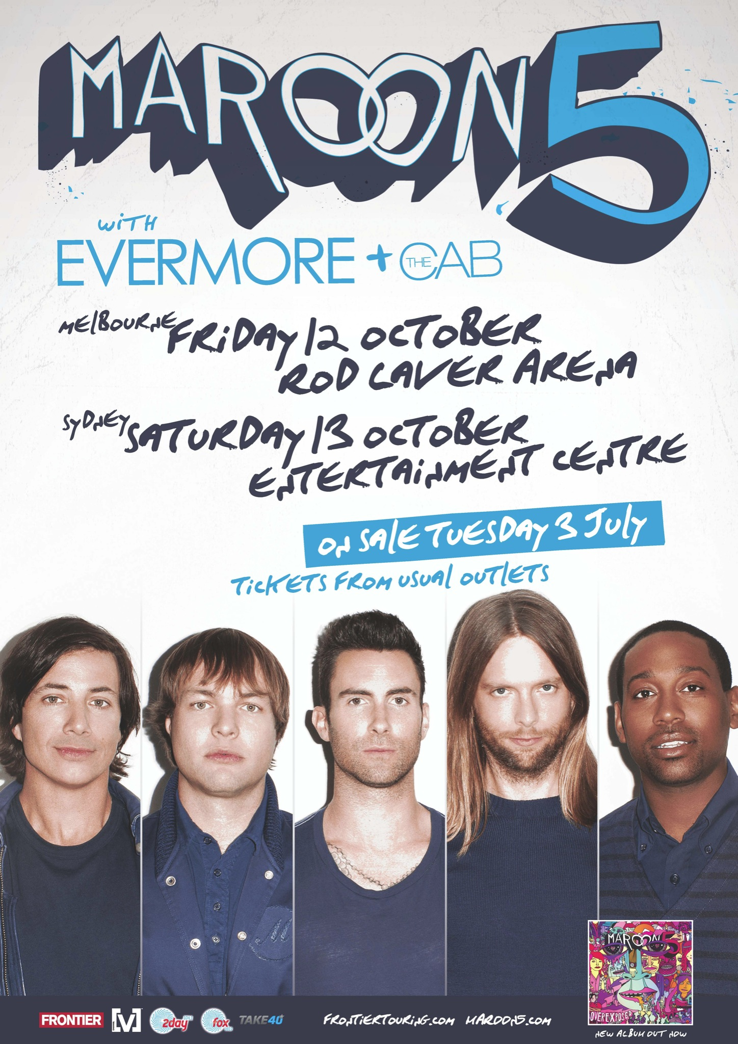 Maroon 5 on twitter retweet to win 2 meet greet passes to the maroon 5 on twitter retweet to win 2 meet greet passes to the melbourne or sydney show tickets go on sale on tuesday kristyandbryce Image collections