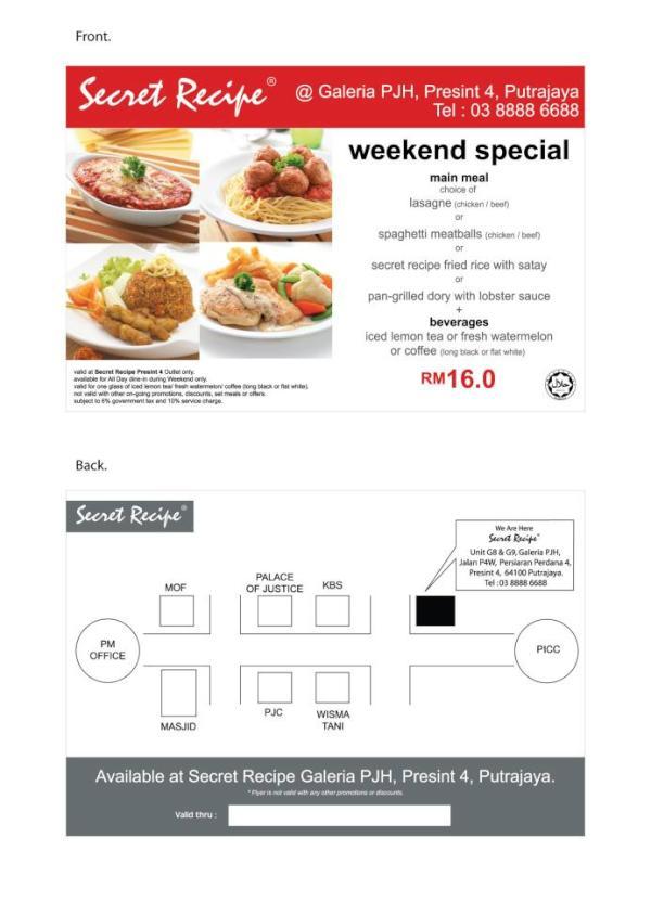 secret recipe official website