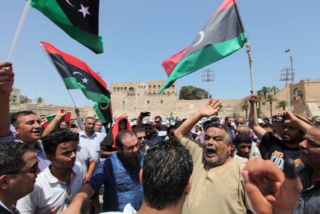 Twitter / davidpoort: Celebrations at #Tripoli's ... on Twitter